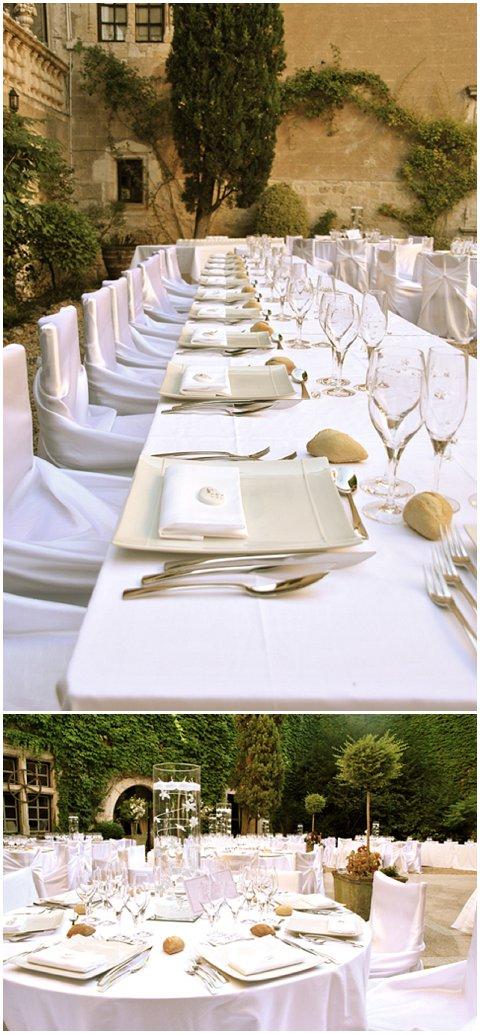 chateau wedding style