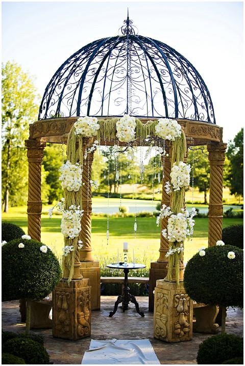 fairytale wedding gazebo