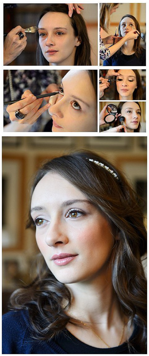 how to do bridal make up