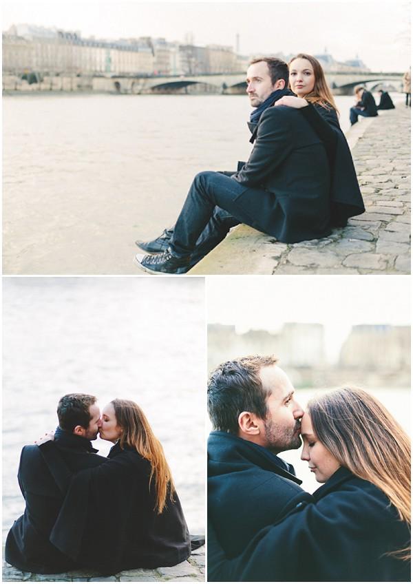 couple river seine