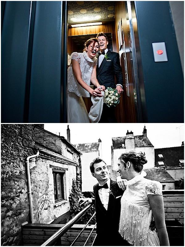 couple wedding photos france