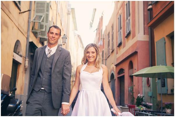english french wedding