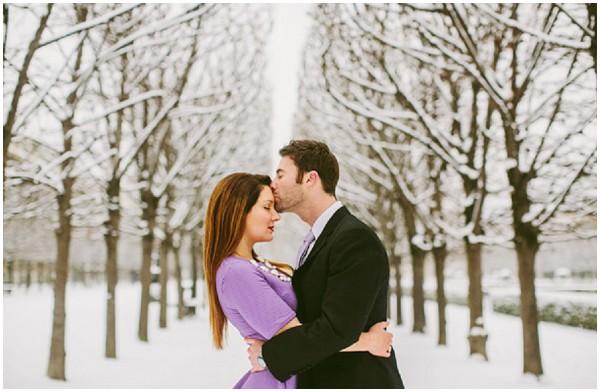 love in snow