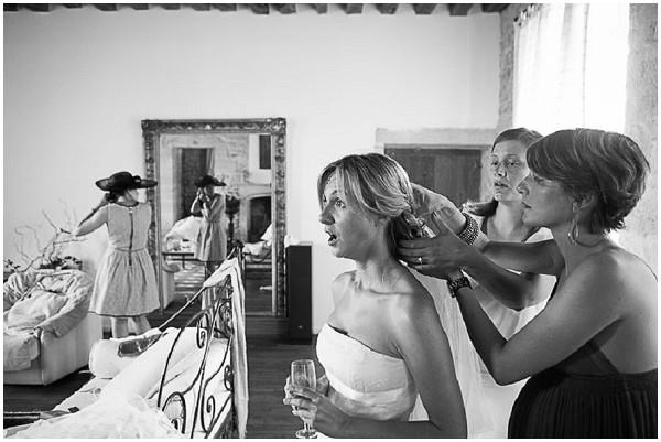 loire valley bridal hair