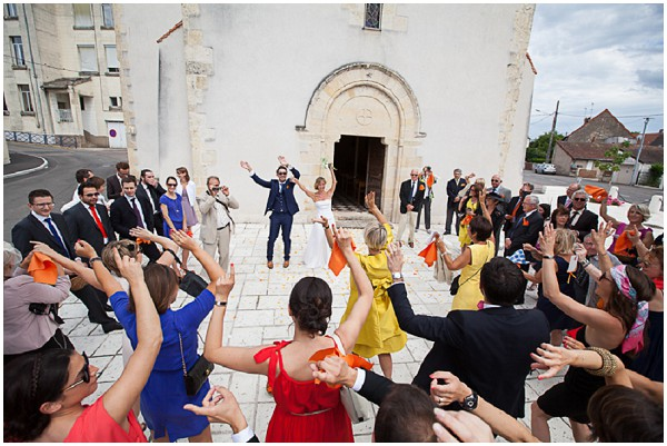 loirevalley flash mob wedding