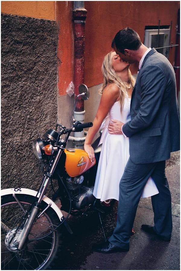 motorbike wedding