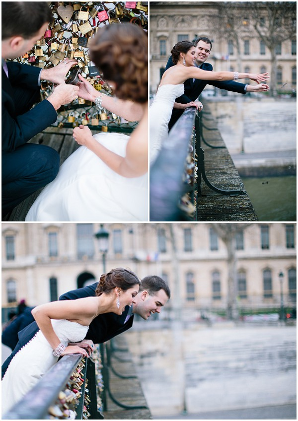 throw wedding padlock