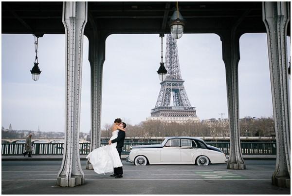 wedding eiffel tower paris