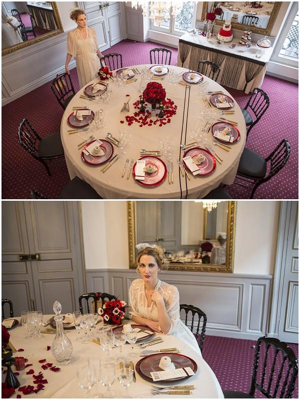 French wedding glamour