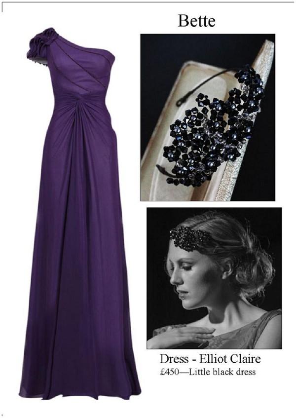 purple red-carpet dress
