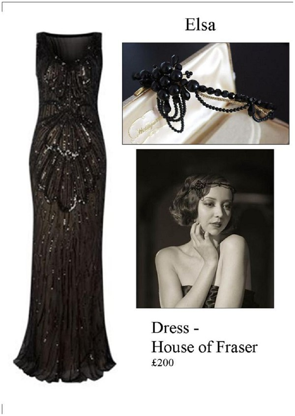 black Cannes Film festival dress