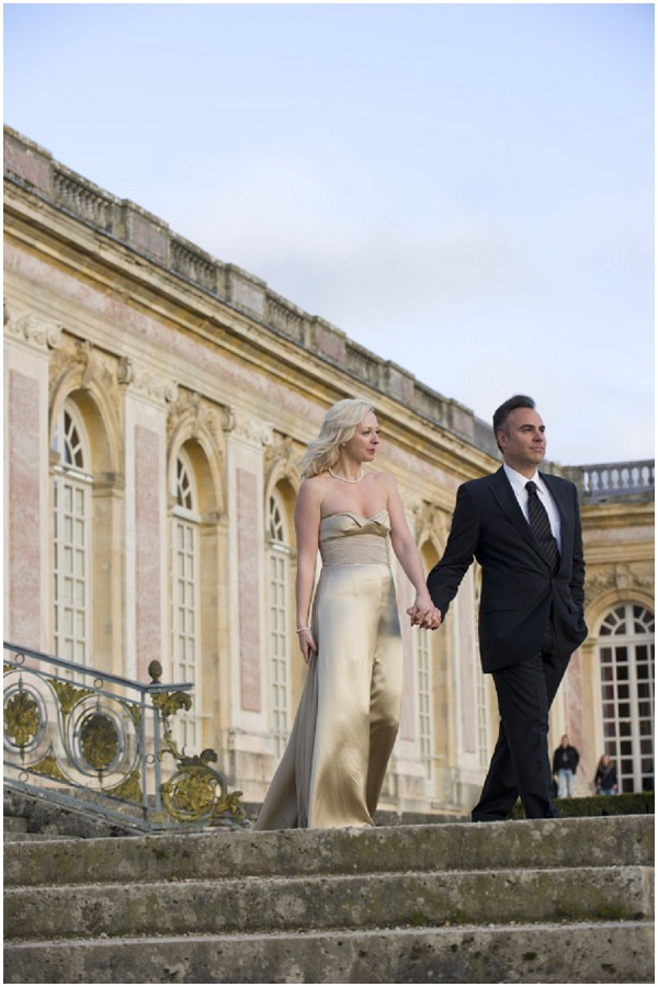 hollywood glamour french wedding