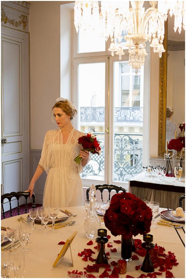 vintage bridal glamour