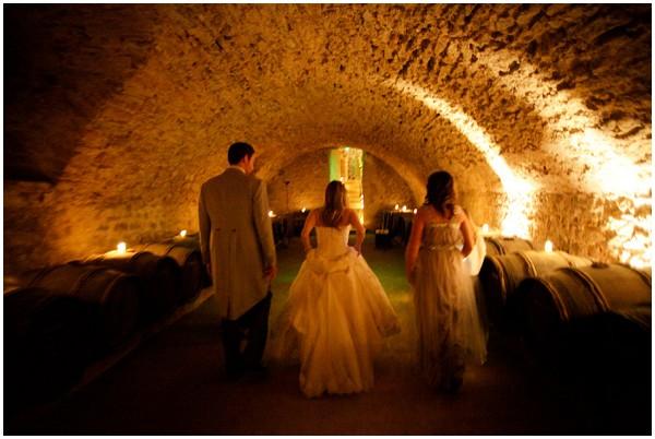 wedding France cave