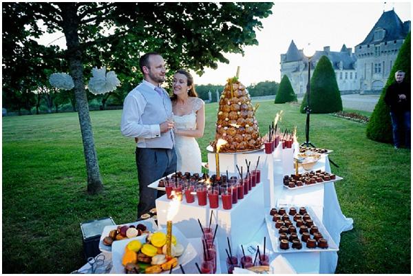 wedding dessert table france
