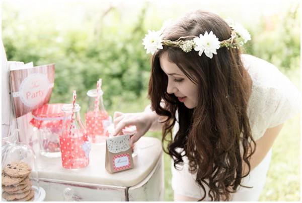 boho bride party
