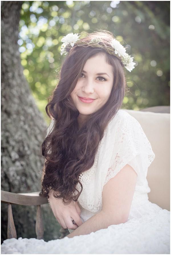 boho bride woods