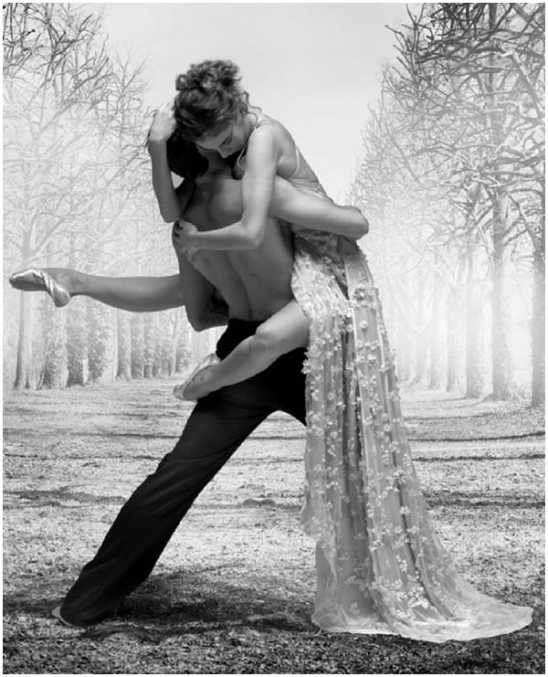 dance inspired weddingdress