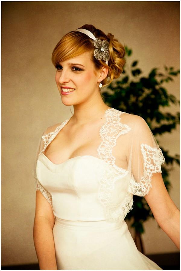 demure bridal style