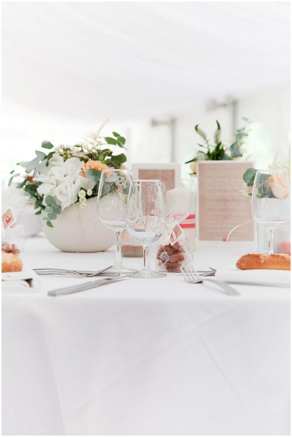 fresh wedding table