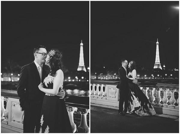 nightime shoot Paris