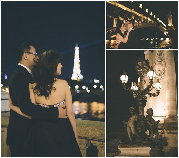 pre wedding nighttime