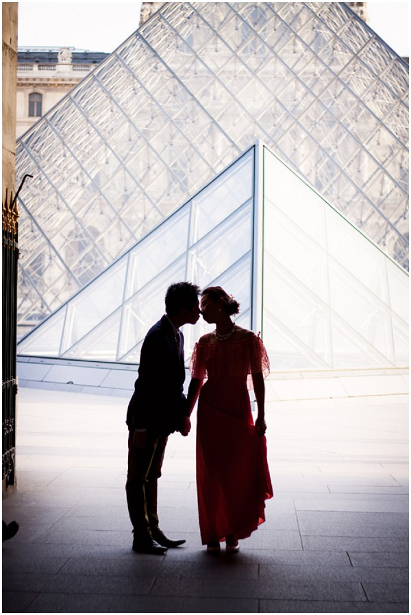 silhouette engagement photography paris
