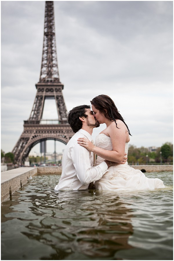 trash the dress water