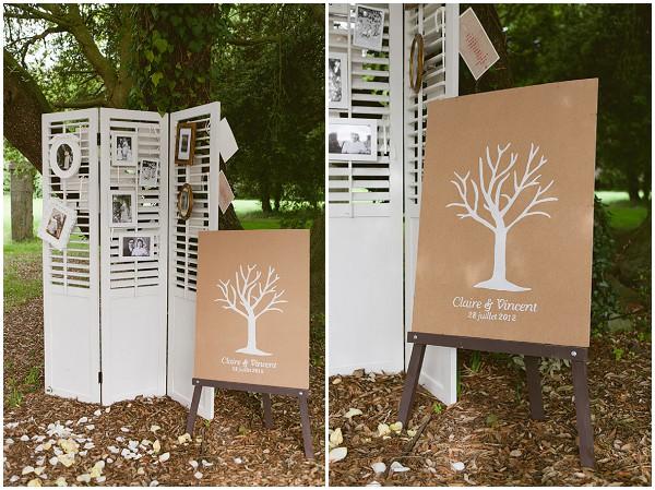 unique family wedding tree