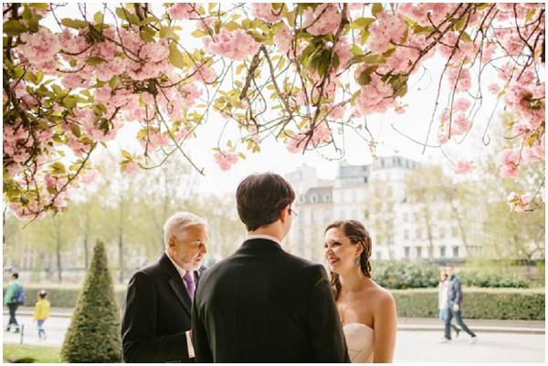 wedding notre dame blossom