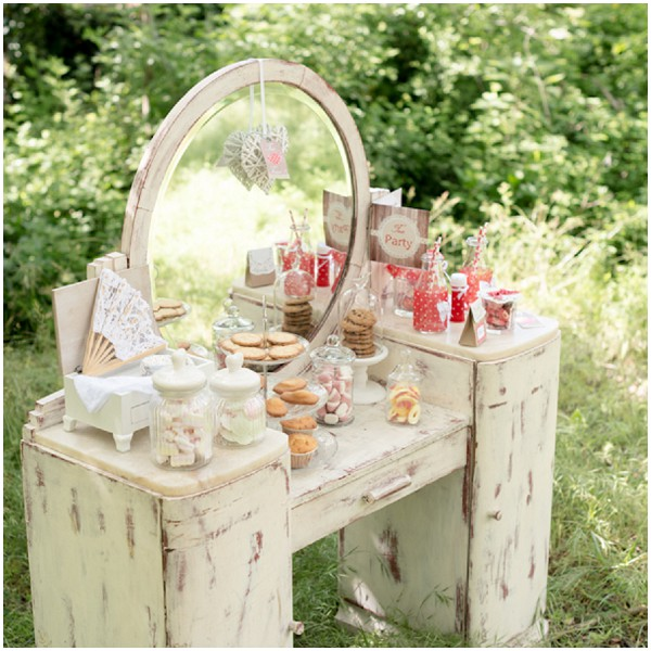 woodland bridal teaparty