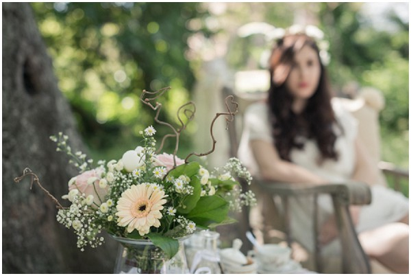 woodland bride ©Jérémy Guillaume #wedding