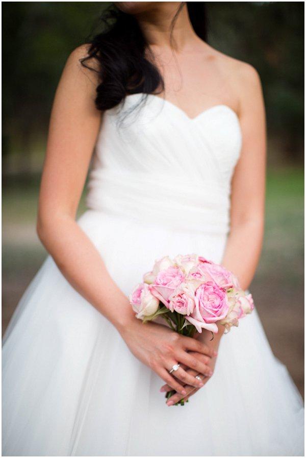 Bride pink bouquet