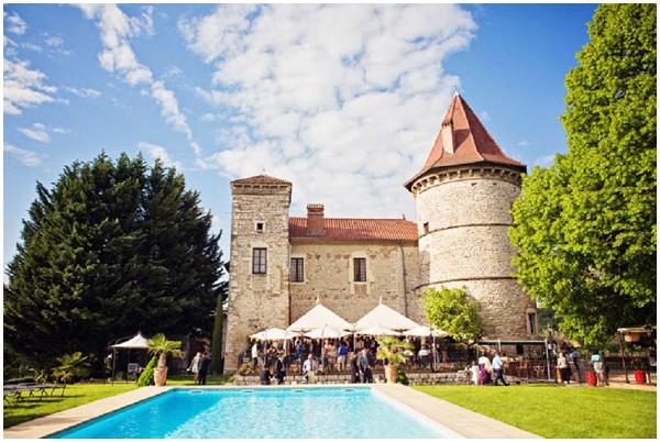 Destination Wedding in the Rhone Alpes