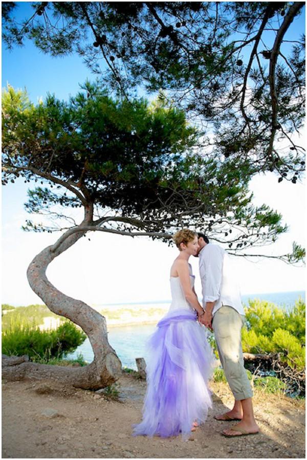 beach front wedding
