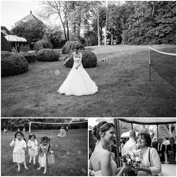 bride badminton