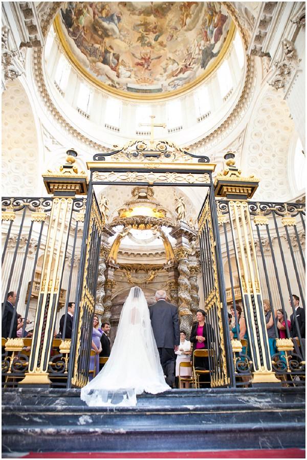 church wedding blessing paris