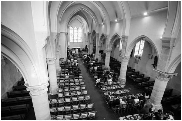 church wedding paris