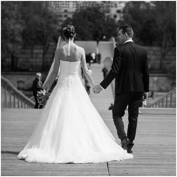 classic bride groom paris