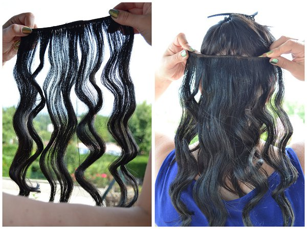clip in hair tutorial