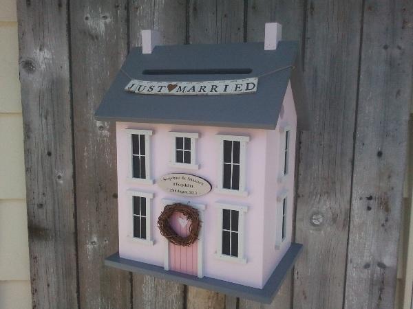 doll house wedding card box