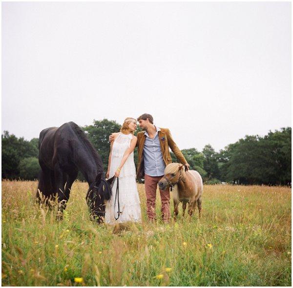 french bohemian wedding