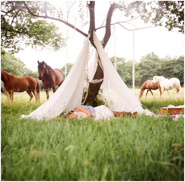 french boho wedding tent