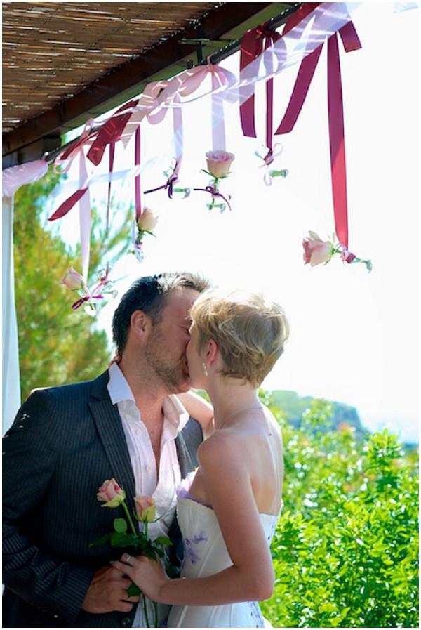 hanging rose wedding decorations