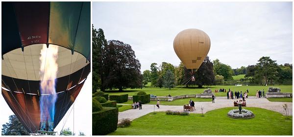hotair balloon paris