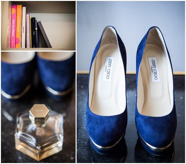 jimmy choo blue shoes