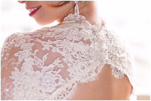 lace bridal bolero