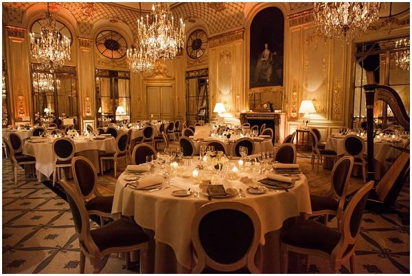 le meurice top ten luxury wedding venues in Paris