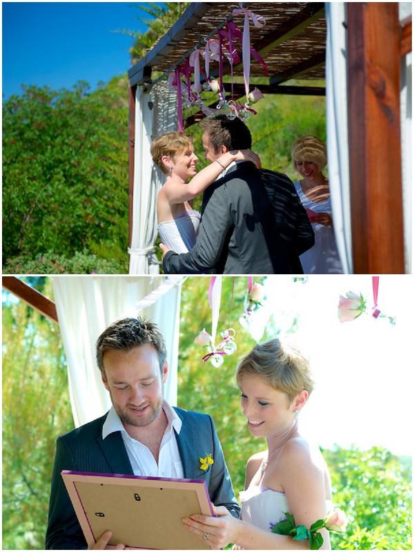 Outdoor wedding in Provence /  Photography © Ben & Aurore Photos