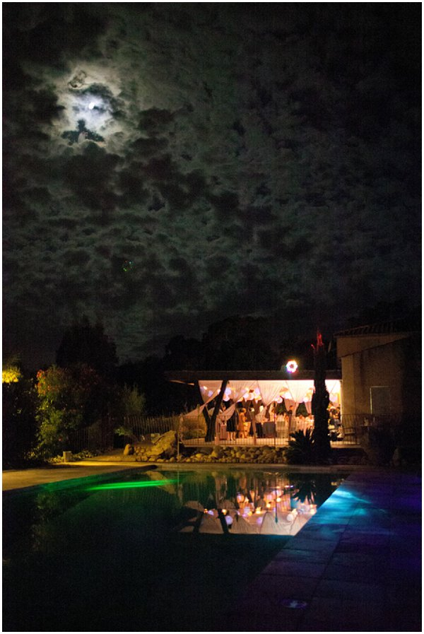 moon wedding reception